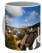 Thatched Cottages Near Dunmore Strand Coffee Mug
