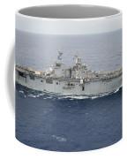 The Amphibious Assault Ship Uss Essex Coffee Mug