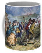 The Battle Of Concord, 1775 Coffee Mug