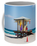 The Beach In Hollywood Florida Coffee Mug