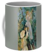 The Cherry Picker  Coffee Mug by Berthe Morisot