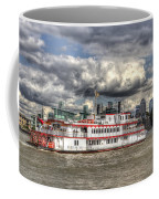 The Dixie Queen Paddle Steamer Coffee Mug