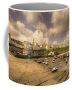 The Harbour At Tenby  Coffee Mug