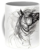 The Horse Sketch Coffee Mug