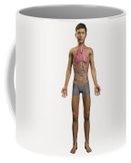 The Lungs Within The Body Pre-adolescent Coffee Mug