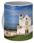 The Papal Basilica Of St. Francis Of Assisi  Coffee Mug