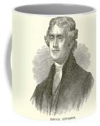 Thomas Jefferson Coffee Mug by English School
