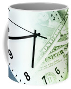 Time Is Money Coffee Mug by Les Cunliffe