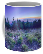 Top Of Mount Mitchell After Sunset Coffee Mug