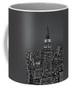 Top Of The Rock Bw Coffee Mug