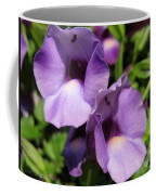 Torenia Named Purple Moon Coffee Mug