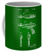 Toy Ray Gun Patent 1952 - Green Coffee Mug