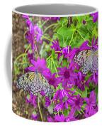 2 Tree Nymph Butterflies Coffee Mug