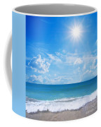 Tropical Beach Coffee Mug