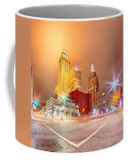 Tulsa City Skyline Around Downtown Streets Coffee Mug
