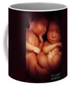 Twin Babies Coffee Mug