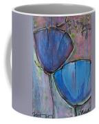 Two Blue Poppies Coffee Mug