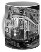 Typical Lisbon Tram In Commerce Square Coffee Mug