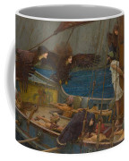 Ulysses And The Sirens Coffee Mug