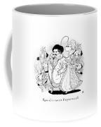 Captionless; Renaissance Paparazzi Coffee Mug