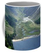 Upper Lake At Glendalough Coffee Mug