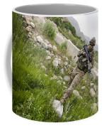 U.s. Army Specialist Walks Coffee Mug