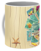 Vacation Postcards Coffee Mug