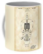 Vacuum Tube Patent 1942 - Vintage Coffee Mug