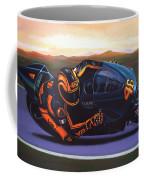 Valentino Rossi On Ducati Coffee Mug