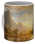 Valley Of The Yosemite Coffee Mug