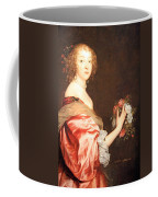 Van Dyck's Catherine Howard -- Lady D'aubigny Coffee Mug