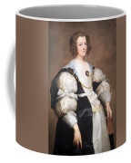 Van Dyck's Lady With A Fan Coffee Mug