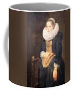 Van Dyck's Portrait Of A Flemish Lady Coffee Mug