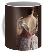 Victorian Woman Undressing Coffee Mug