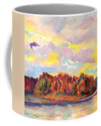 View Of Goat Island From Clackamette Park Coffee Mug