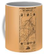 Vintage Train Ad 1887 Coffee Mug