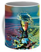 Water Splash Having A Bad Hair Day Coffee Mug
