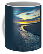 Wells Beach Maine Sunrise Coffee Mug