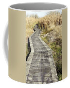Wetland Walk Coffee Mug by Les Cunliffe