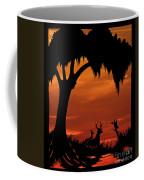Wetland Wildlife - Sunset Sky Coffee Mug