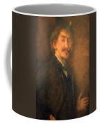 Whistler's Brown And Gold Self Portrait Coffee Mug