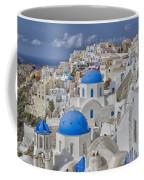 White Buildings With Steep Slope Coffee Mug
