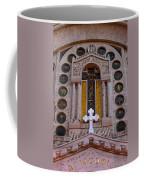 White Cross At St Sophia Coffee Mug