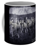 White Horses  Coffee Mug