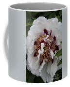 White Peony Coffee Mug