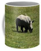 White Rhinoceros Calf  Coffee Mug