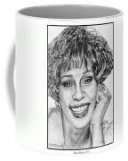 Whitney Houston In 1992 Coffee Mug