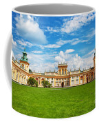 Wilanow Palace In Warsaw Poland Coffee Mug