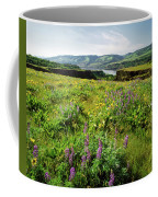 Wildflowers In A Field, Columbia River Coffee Mug
