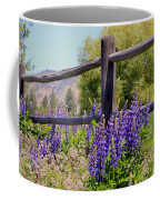 Wildflowers On The Fence Coffee Mug